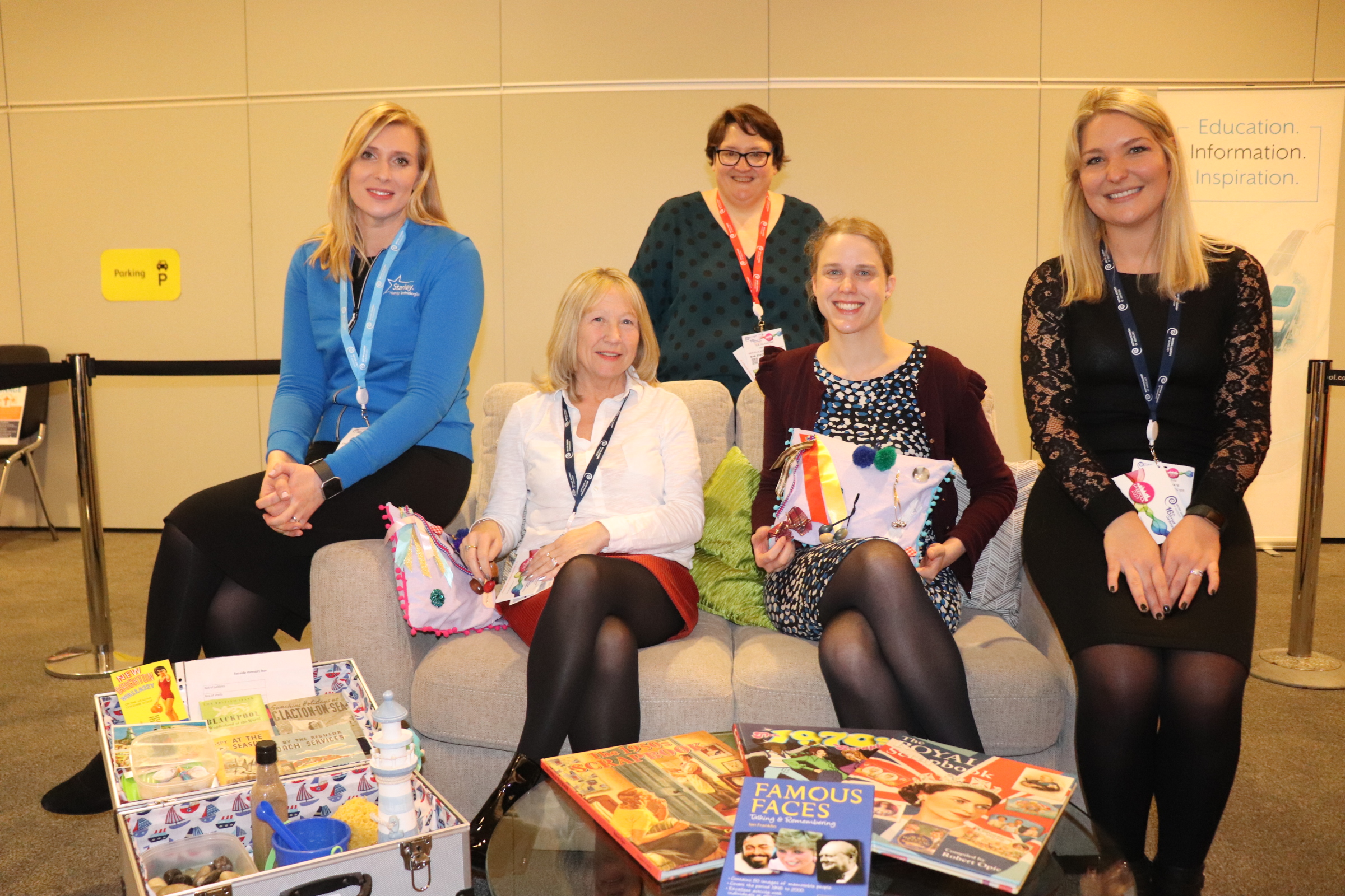 DSN team at the deafness dementia conference